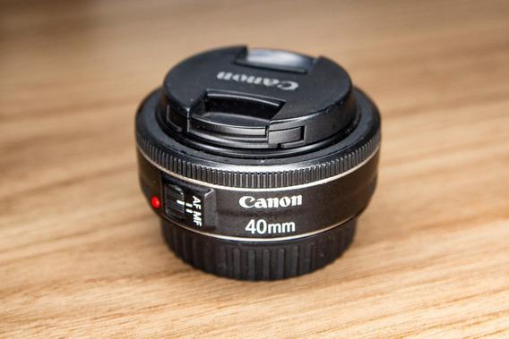 Lente Ef 40mm F/2.8 Stm - Usada