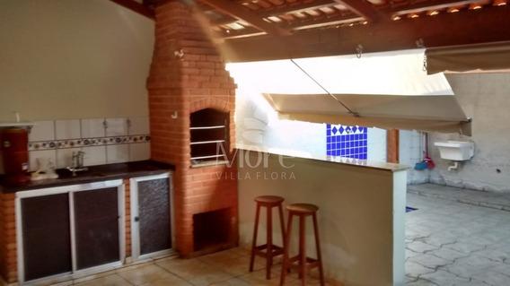 Venda De Casa Modelo Carolina Com 2 Quartos, Imóvel Rico Em Planejados, Em Condomínio No Villa Flora Em Sumaré Sp - Ca00754 - 34487655