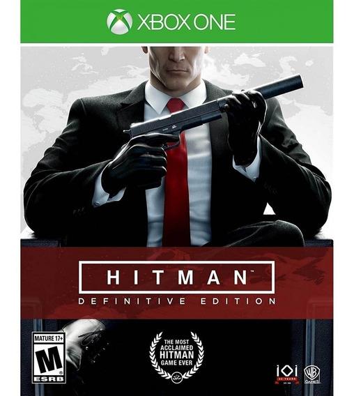 Jogo Lacrado Hitman Definitive Edition Para Xbox One