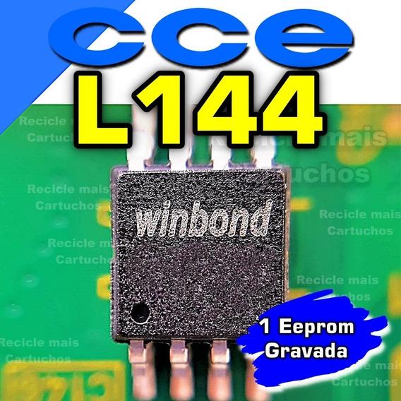 Memoria Flash Tv Cce L144 Chip Gravado Original 25q64