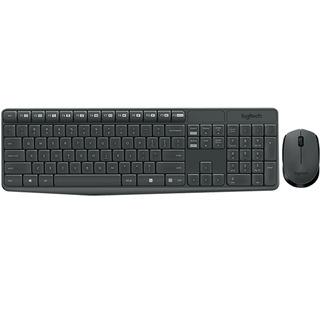Kit Teclado Y Mouse Inalámbrico Logitech Mk235 Usb 2.4 Ghz