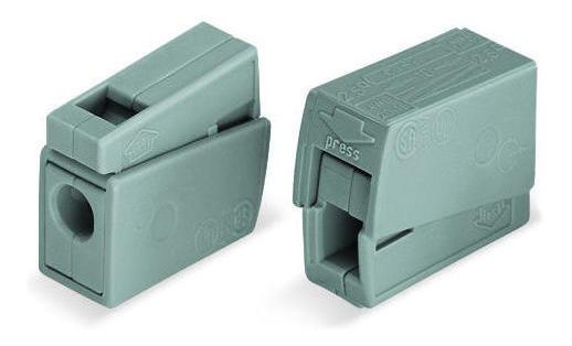 Conector De Passagem Fios Flexíveis E Rígidos De 1,0 A 2,5mm