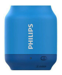 Parlante Portatil Bluetooth Philips Bt51 2w Color Azul