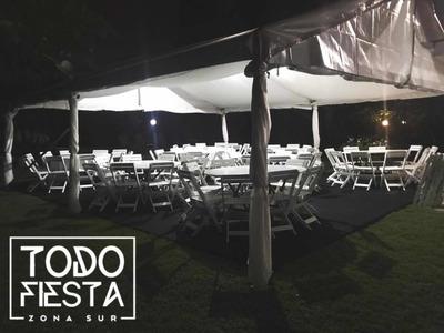Alquiler De Mesas,sillas,manteles Y Carpas Para Eventos