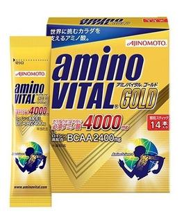 Kit 4 Caixas Suplemento Aminovital Gold (56 Unidades)