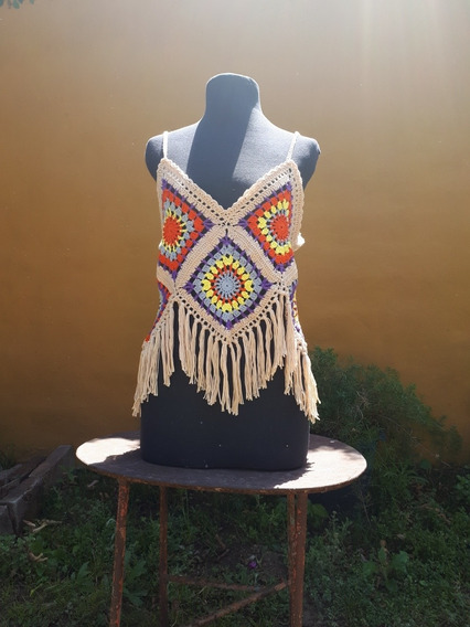 Top De Crochet