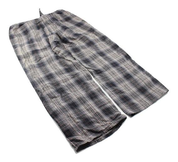 Pantalon Pijama Descanso Merona Algdon Cuadros Talla S 28-30