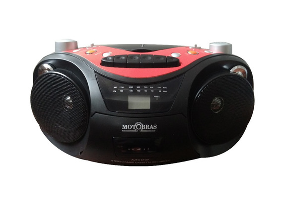 Cd/mp3 Player Com Rádio Am/fm E Gravador - Motobras