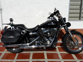 Moto Harley Davidson Dyna Super Glide Custom