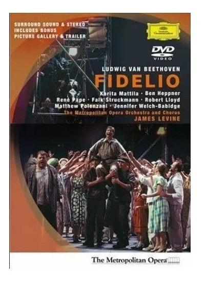 Beethoven - Fidelio - James Levine - Dvd - Original!!!!