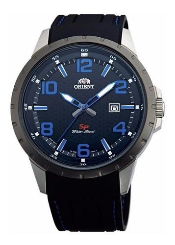 Reloj Orient Hombre Goma Fumg3006bo Original