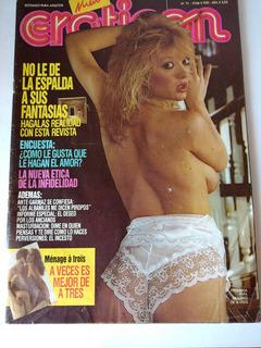 Revista Eroticón Nº71 Julio 1990 - Christopher Lambert