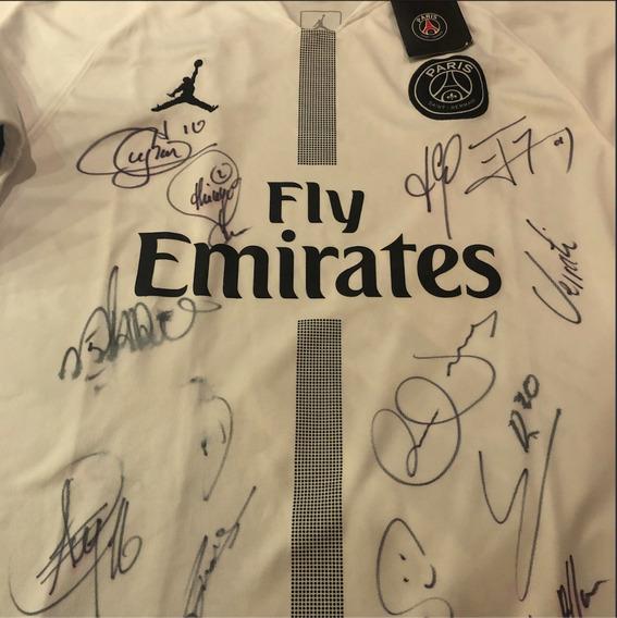 Camiseta Autografada Oficial Paris Saint-germain (neymar...)