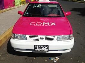Taxi Nissan Tsuru 2013 Con Placas Y Seguro A Tú Nombre