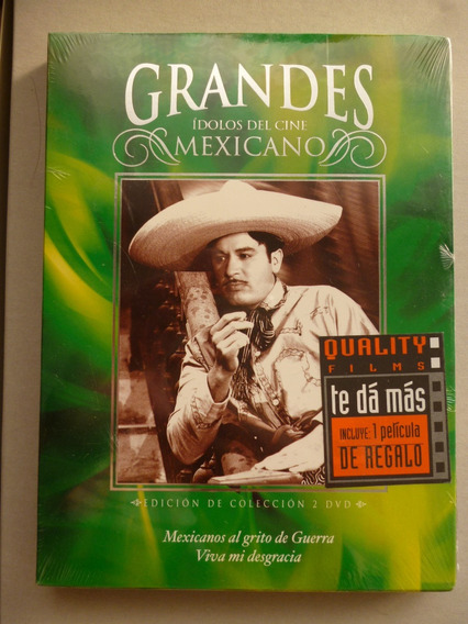 Pedro Infante Mexicanos Al Grito De Guerra Dvd 50vo Aniv