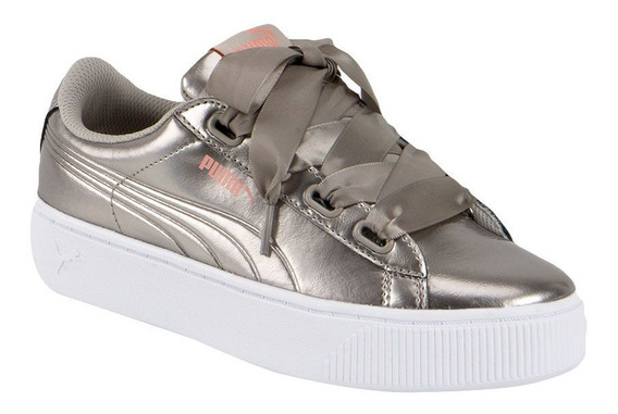 Tenis Casual Puma Vikky Stacked Ribbon Hb2622