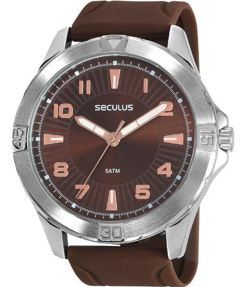 Relógio Seculus Masculino 77037g0svni1