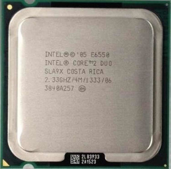 Processador Core2duo E 6550 Lga 775 2.33 Ghz Com Cooler
