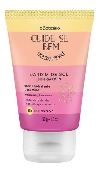 Cuide-se Bem Jardim De Sol Creme Hidratante Des. De Mãos, 50