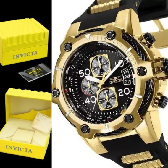 Relógio Invicta Lançamento Swiss Bolt B25874 Original Caixa.
