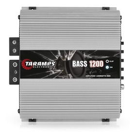 Modulo Amplificador Bass1200 1 Canal 2 Ohms Taramps Pioneer