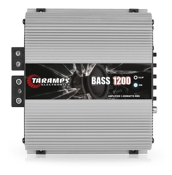 Modulo Amplificador Bass1200 1 Canal 2 Ohms Taramps Pioneer