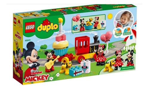 Lego Duplo O Trem De Aniversário Do Mickey E Da Minnie 10941