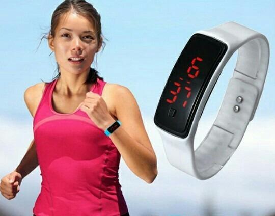 Relógio De Pulso Digital Unissex Para Prática De Sport