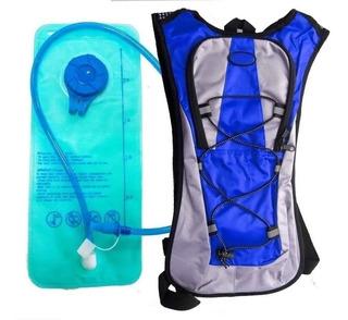 Mochila Bolsa Hidratação Térmica 2 Litros Com Refil Bike Mot
