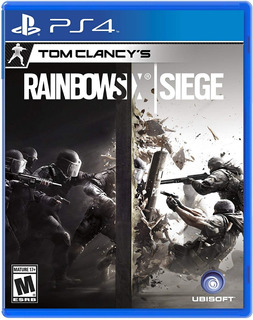 Tom Clancys Rainbow Six Siege / Juego Físico / Ps4
