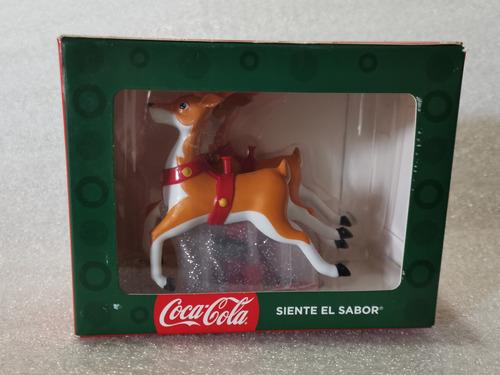 Reno De La Colección De Trineos Coca Cola. Navidad 2018