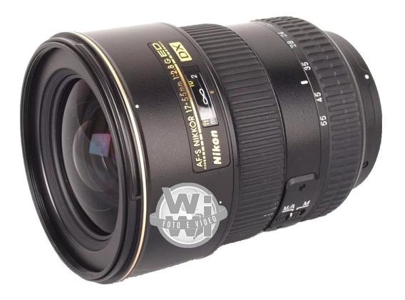 Nikkor Af-s 17-55mm F: 2.8g If-ed Dx (usado)