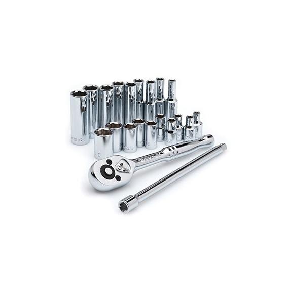 Crescent Csws2 1/4-inch Drive Socket Wrench Set, 21 Piezas