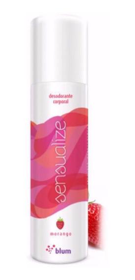 Kit 12 Un. - Desodorante Íntimo - Sensualize Blum - Morango