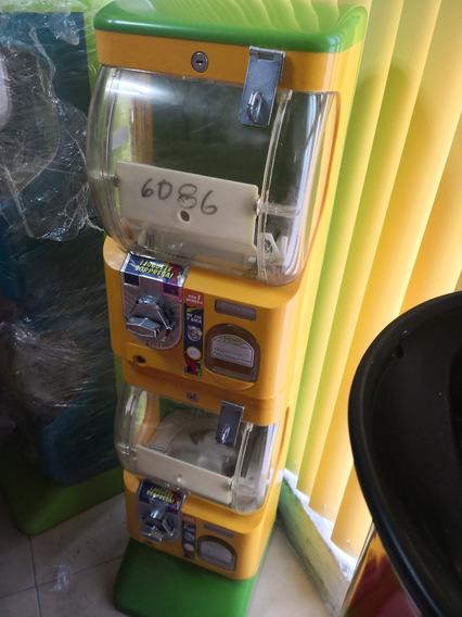 Maquina Juguetera Doble Capsula 2 Pulgadas Vending 10 Pesos