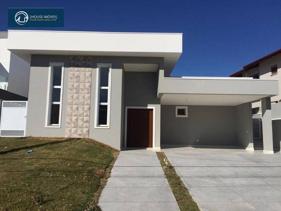 Excelente Casa De Alto Padrão! Sobrado De 320 M², Térrea, No Reserva Da Serra, Jundiaí Térrea - Ca3449