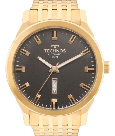Relogio Technos 8205of/4p Classic Automatico Dourado Masculi