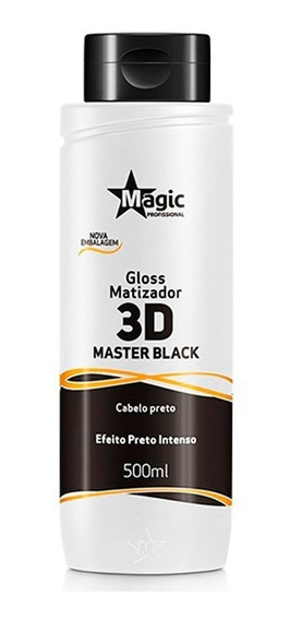 Magic Color Matizador Preto Intenso Master Black 500ml