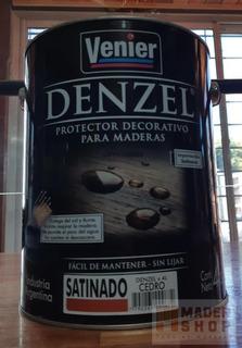 Denzel Protector Para Maderas Satinado Venier X 1 Litro. - Mader Shop