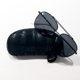 fbc1cc62e Óculos De Sol Aviador Unissex Uv 400 + Capinha De Brinde