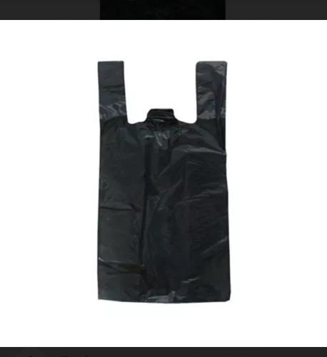 Bolsas Plasticas Con Asa 25 Kg Negras - Camiseta