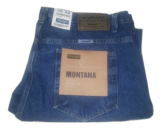 Jeans Hombre Wrangler Montana Recto(6 Cuotas Sin Interés)