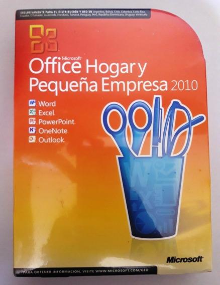 Microsoft Office Hogar Y Pequeña Empresa 2010 En Español,dvd