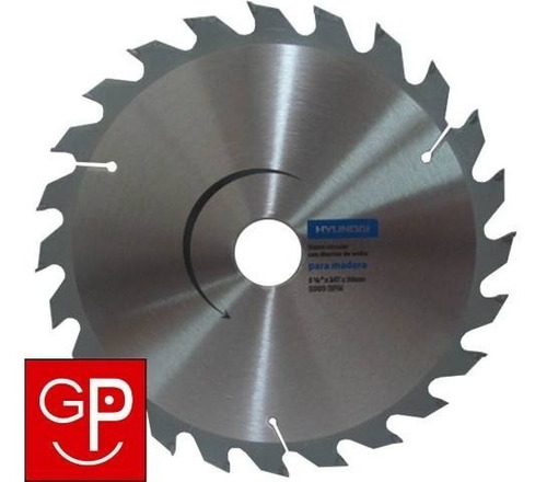 Disco Hoja Circular Hyundai Aluminio Pvc 7.1/4 48 Dientes Gp