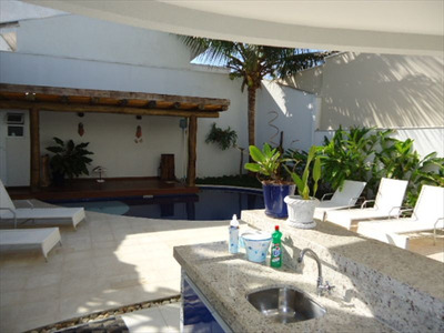 Ref.: 39 - Casa Condomínio Fechado Em Bertioga, No Bairro Guaratuba Costa Do Sol - 5 Dormitórios