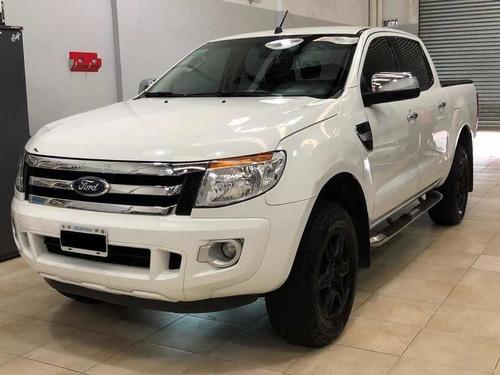 Ford Ranger Xlt 2015 Doble Cabina 4x2 Excelente Estado Full