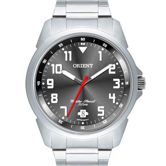 Relógio Orient Prateado Mbss1154a G2sx Masculino Original
