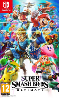 Super Smash Bross Ultimate Nintendo Switch Fisico!!nuevo!!
