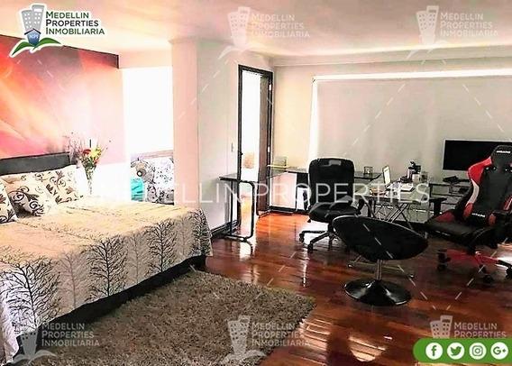 Apartamentos Amoblados Economicos En Medellin Cód: 4286