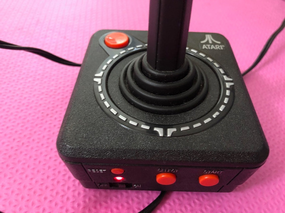 Atari Video Game Plug And Play 10 Jogos Na Memória